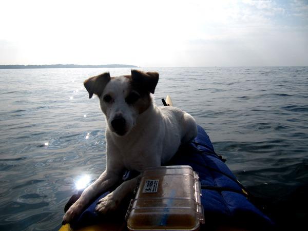 Kayaking on Lake Erie