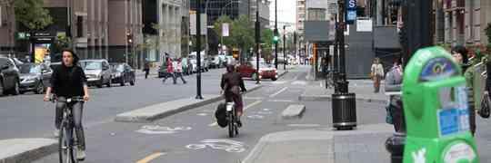 Montreal Bicycle Ridership Up 35-40%