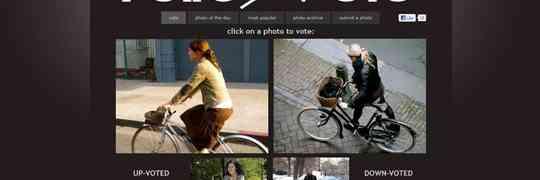 New Bicycle Advocacy Project: ratemyvelo.com