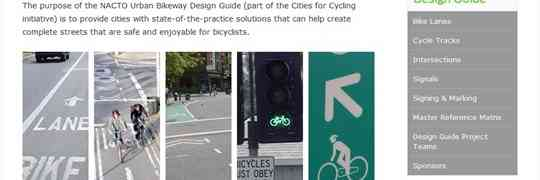 Online Guide For Safe Bicycle Facilities