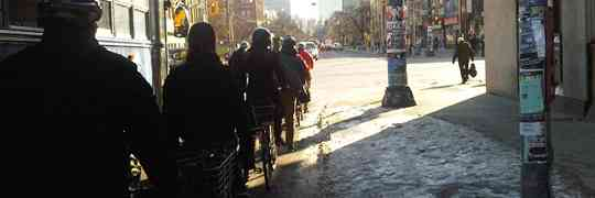 Rush Hour in Toronto At –11 Celsius