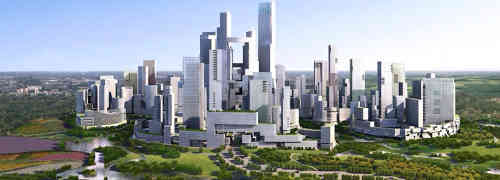 China Building New Eco City