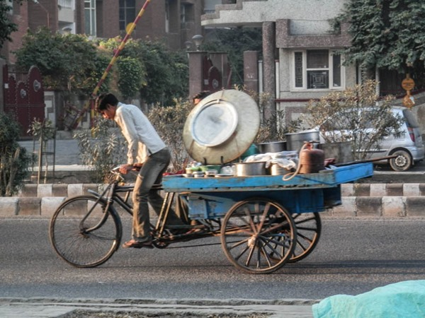 India bike tour - photo by Debbie Selley