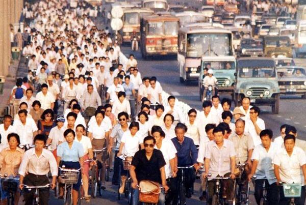 Beijing Changan Street 1986
