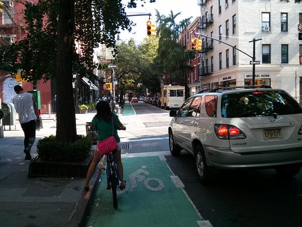 New York City Bike Lane