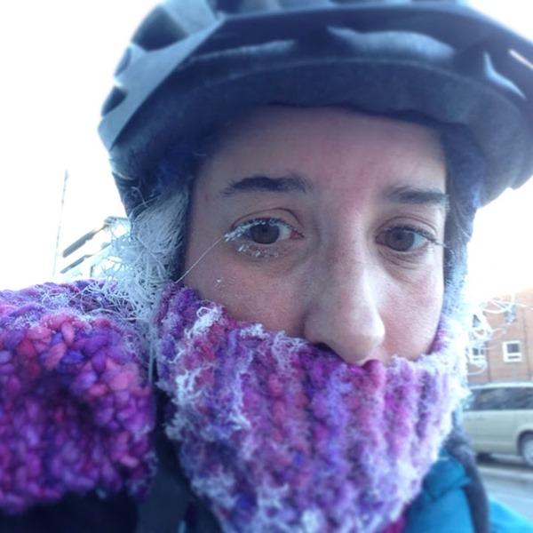 Jen Bike Commute